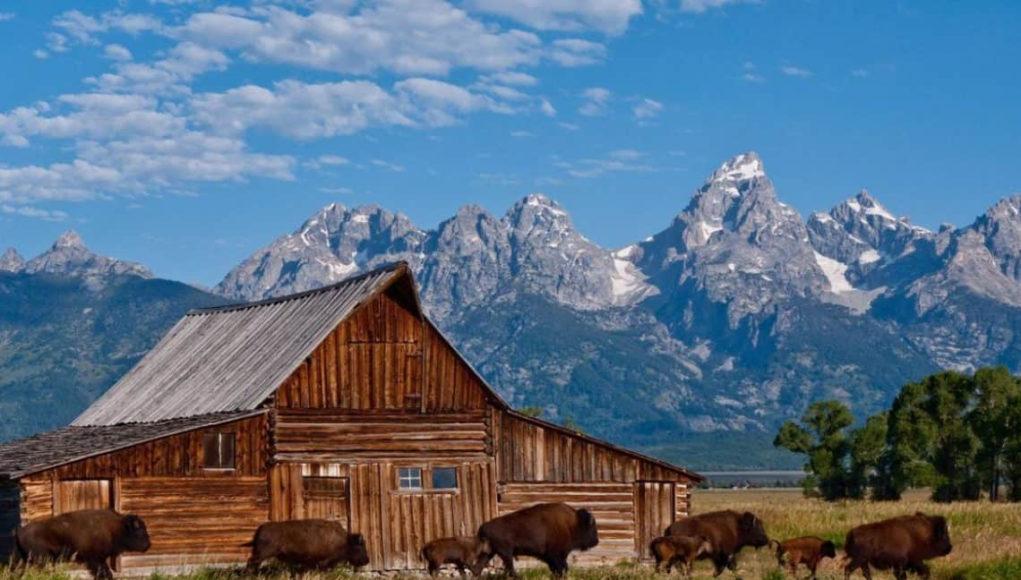 Berbagai Pegunungan Teton Di Amerika Serikat