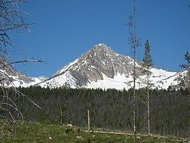 Jalur Pendakian Di Musi Dingin Di Lembah Teton Idaho